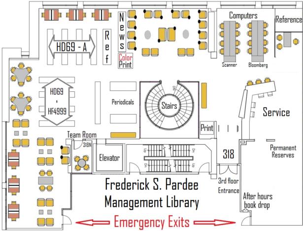 Pardee Management Library Floor Plan Bu Libraries Boston University
