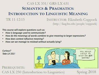 Course Flyers Bu Linguistics