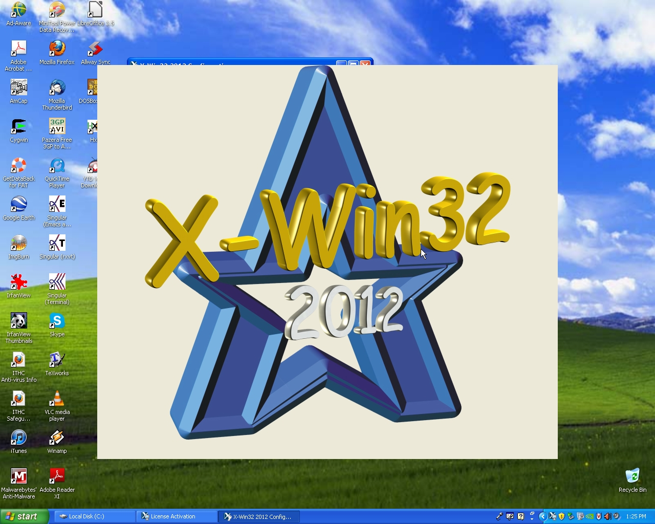Using Putty and X-Win32 to run Unix/Linux Applications