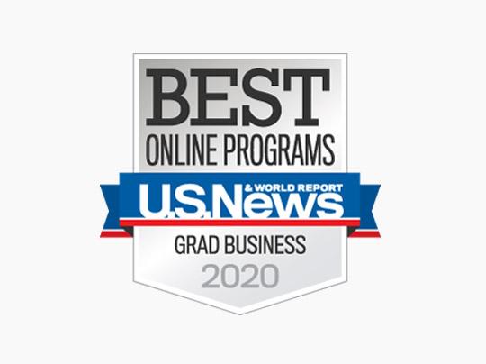 U.S. News & World Report Best Online Programs - Grad Business