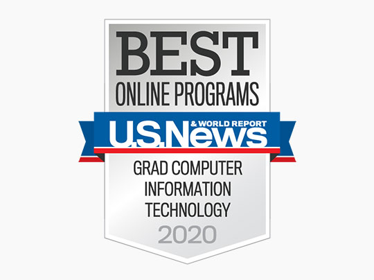 U.S. News & World Report Best Online Programs - Graduate Computer Information Technology