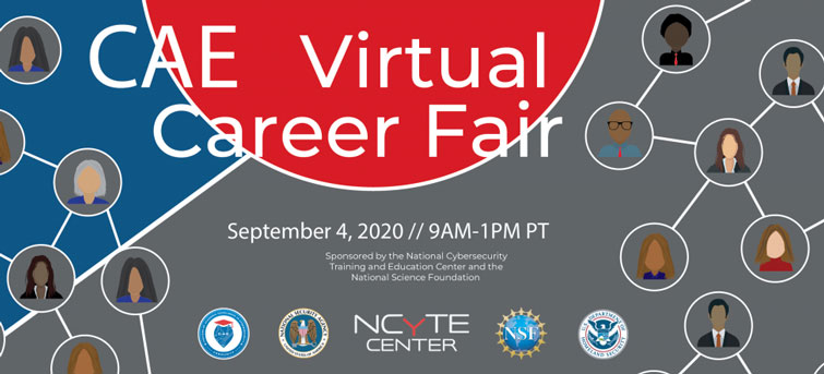 Cyber-Secure Your Future: CAE Virtual Career Fair Open to MET Security Students
