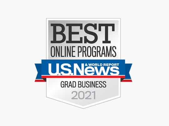#6 in Best Online Master's in Business Programs (Excluding MBA)