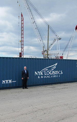 An Interview with the President of NYK Line, North America