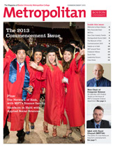 The Metropolitan Newsletter Commencement 2013