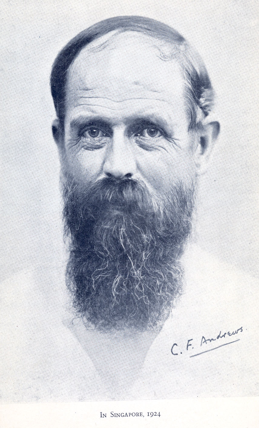 Image result for charles freer andrews and gandhi