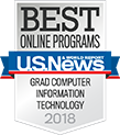 U.S. News & World Report Best Online Programs in Grad Computer Information Technology 2018