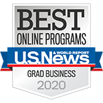 U.S. News & World Report Best Online Programs - Boston University MET Grad Business 2020