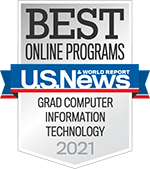 U.S. News & World Report Best Online Programs - Boston University MET Grad Computer Information Technology 2021