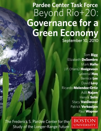 Pardee Center Task Force of Governance for a Green Economy