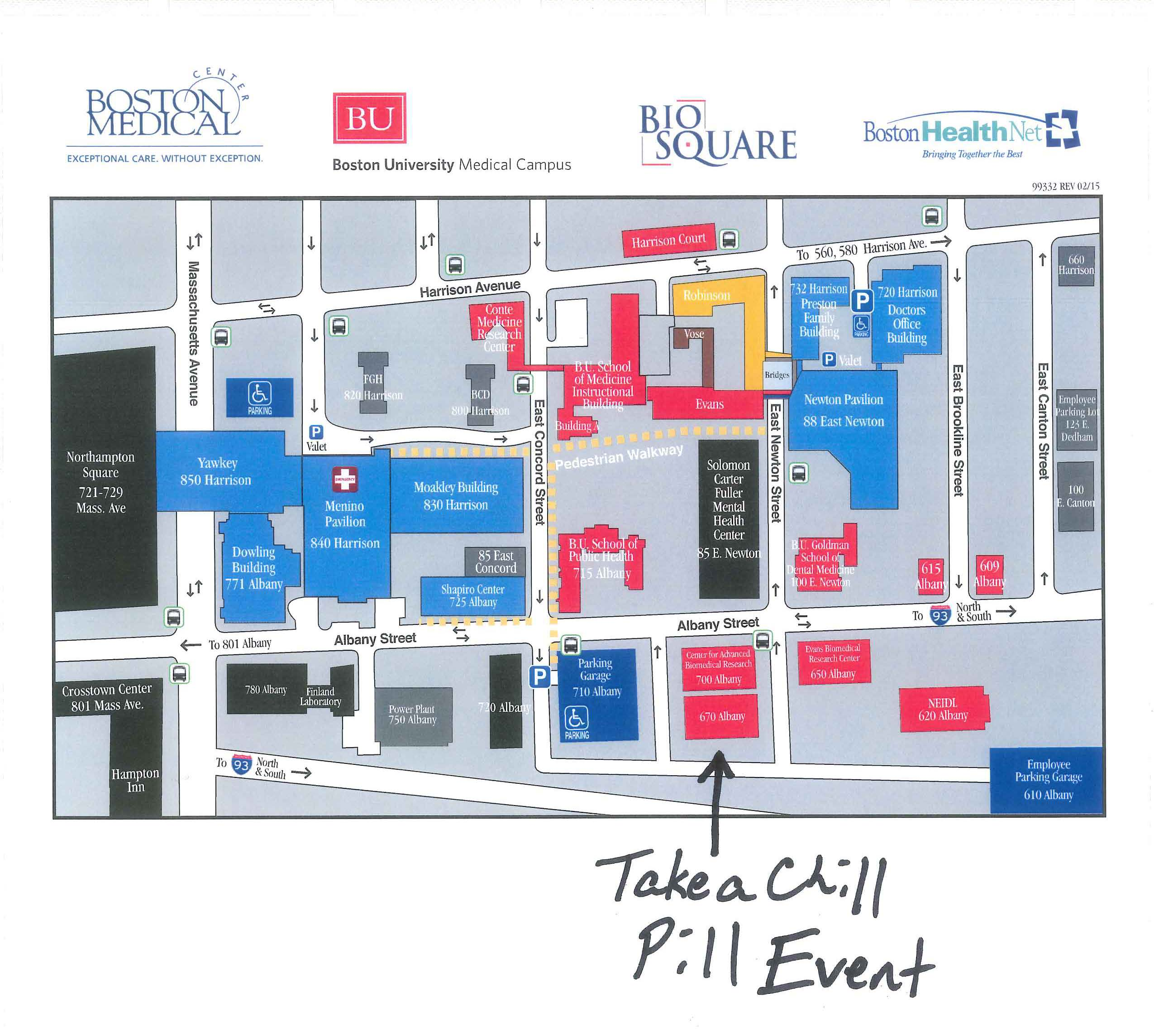 map of boston university Campus Map Pharmaceuticals Program Blog Archive Boston map of boston university