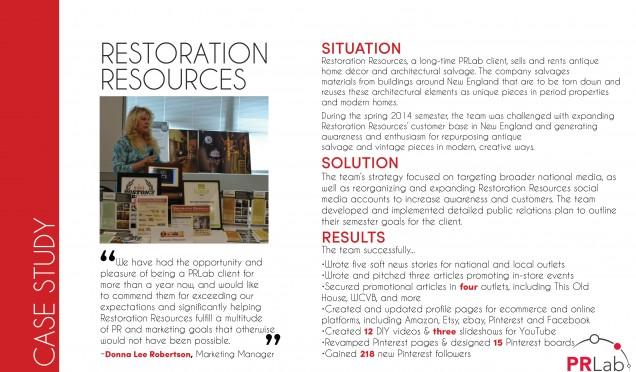 Restoration Resources Case Study (Print)