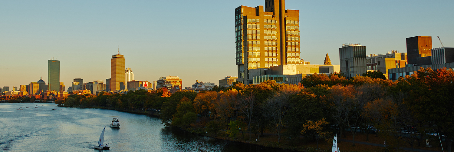 View from the Charles River