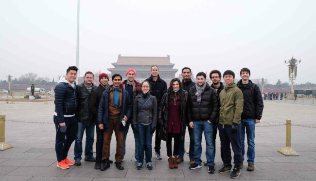 Students turn Chinese Executives for a Week | Questrom School of ...