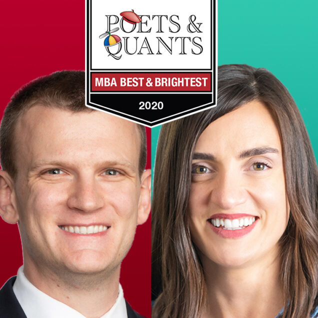 TWO QUESTROM MBA GRADS NAMED TO POETS & QUANTS' 2020 BEST & BRIGHTEST LIST