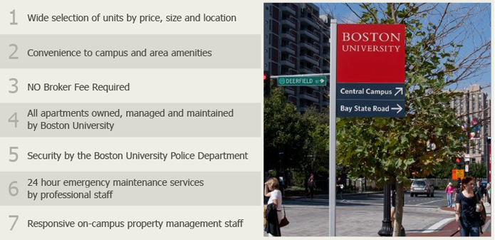 Advantages of BU Apartments