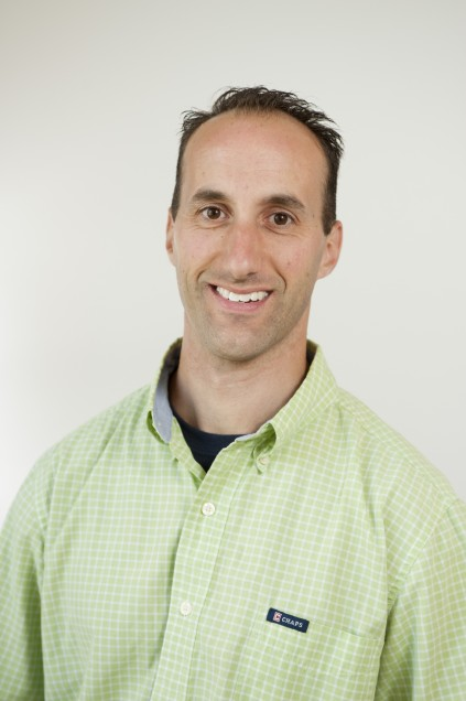 Boston University Physical Therapy Center (BUPTC) staff member Chris Barucci