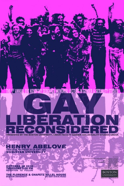 Gay Liberation Reconsidered