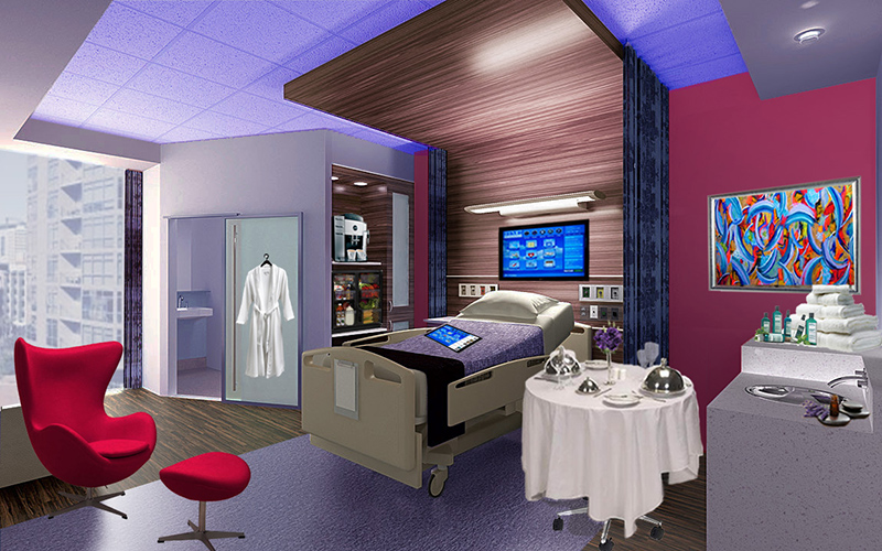 Luxury Hospital Rooms: Patients Willing to Pay More for Rooms with ...