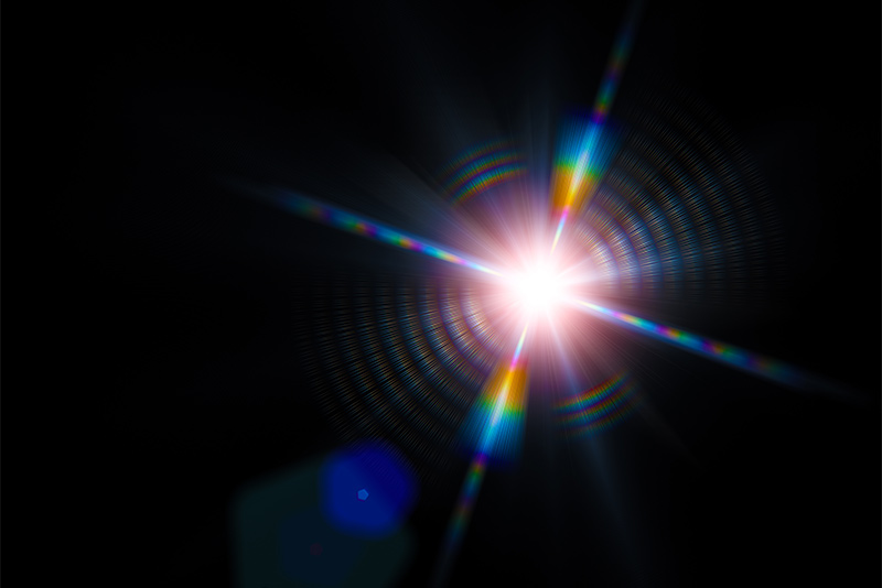 A Point Of Light. BU Researcher Creates Images From Single Photons Pictures Gallery