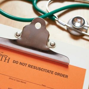 Do Not Resuscitate (DNR) orders convey wishes of patients not to receive CPR during cardiac arrest.