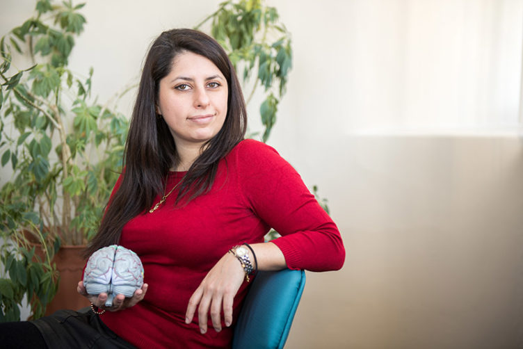 Claudia Satizabal will study the link between midlife obesity and Alzheimer's disease.
