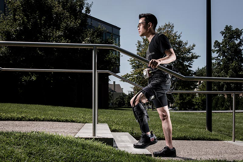 Medical Exosuit Could Help Stroke Victims Relearn How to
