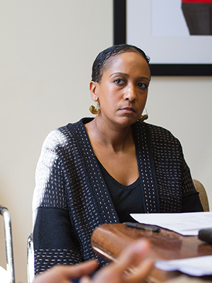 Aaliyah El-Amin, lecturer at the Harvard Graduate School of Education