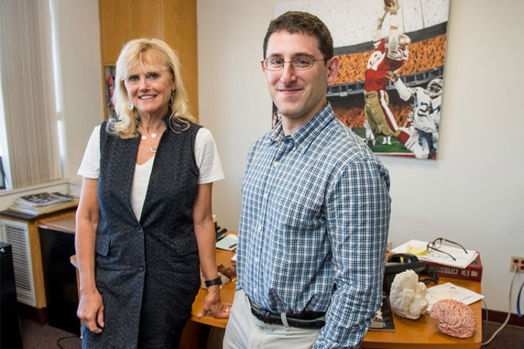 Ann McKee and Jonathan Cherry, researchers at the Boston Universtiy