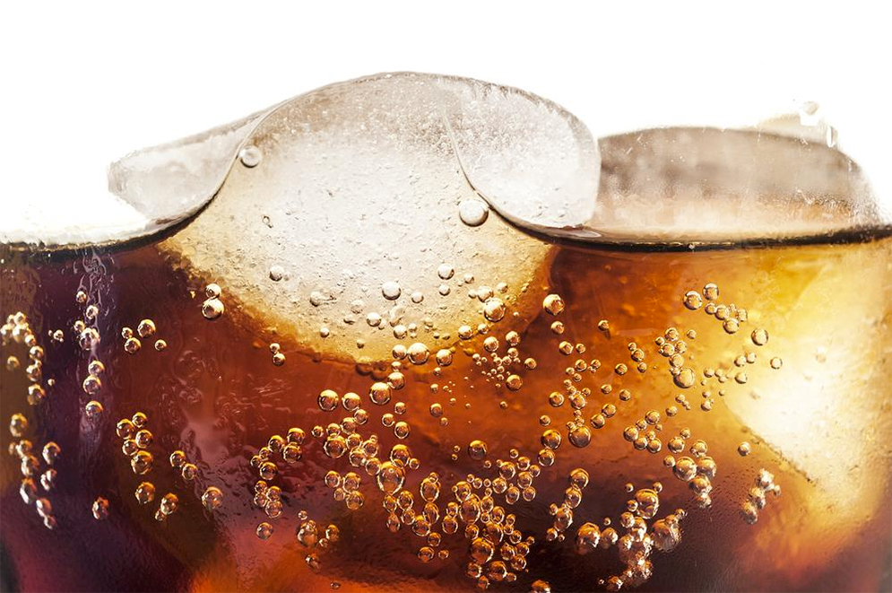 one or more sodas a day associated with lower chance of getting