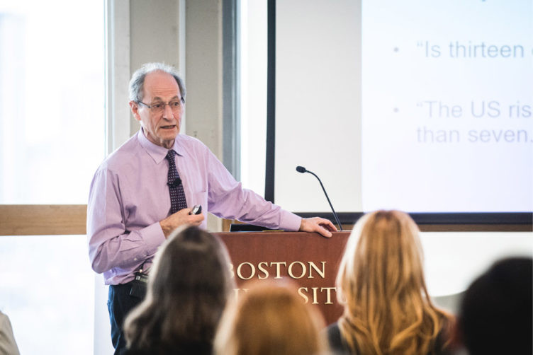 Sir Michael Marmot, professor of epidemiology and director of the Institute of Health Equity at University College London
