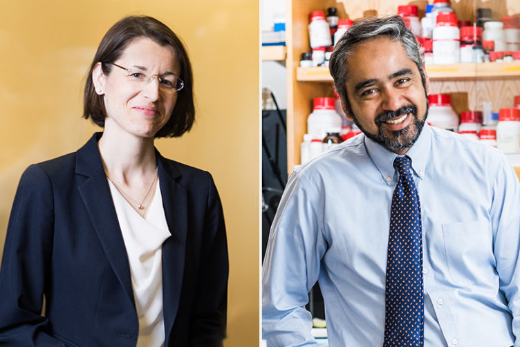 Veronika Wirtz, a School of Public Health (SPH) associate professor of global health, and Muhammad Zaman, a College of Engineering (ENG) professor of biomedical engineering at Boston University