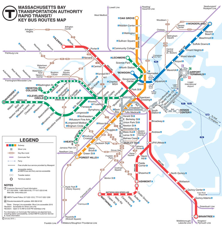 Subway Map Boston Pdf.Conference Sites Transportation 35th Conference Of The