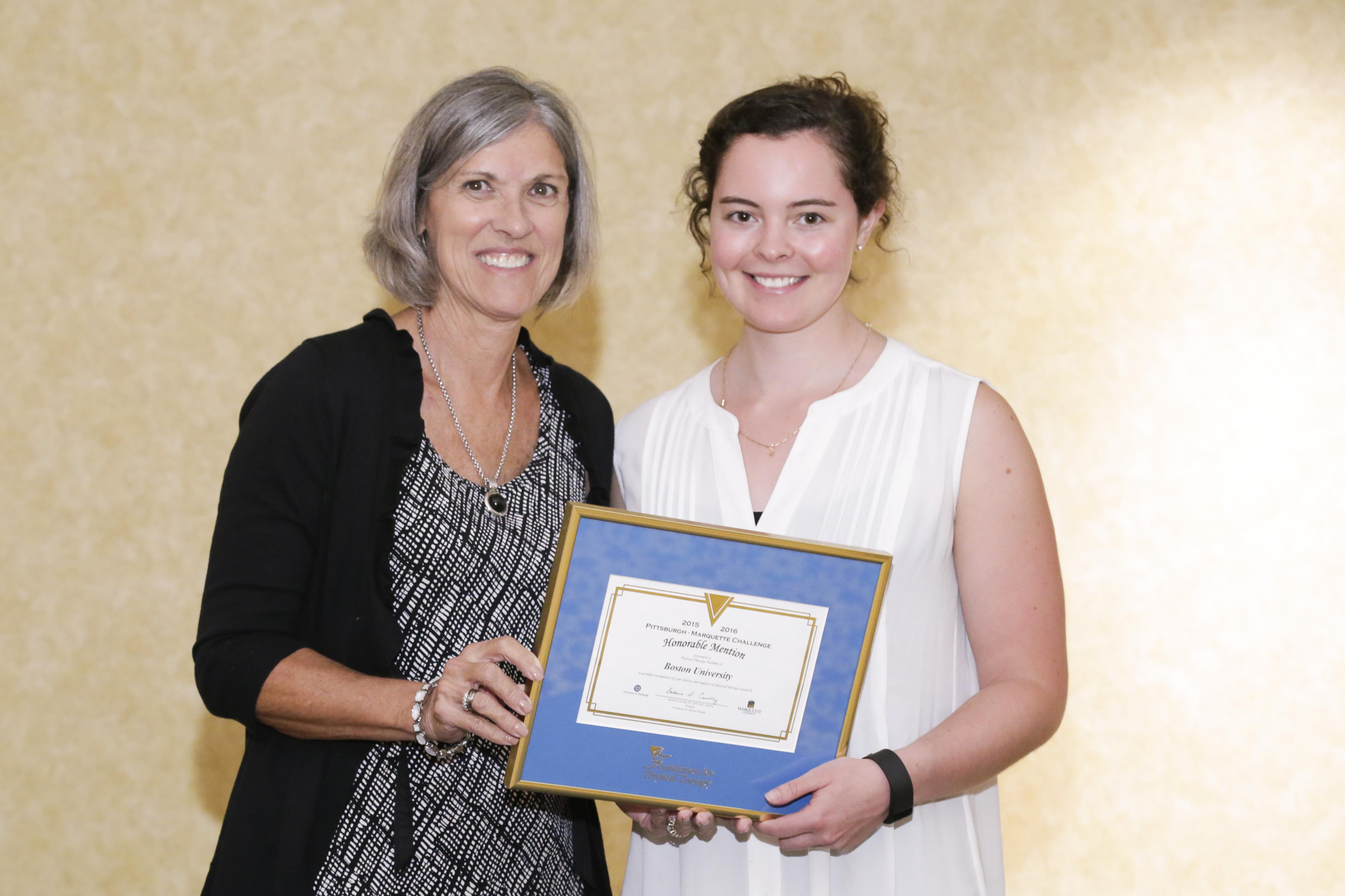 Boston physical therapy university - Boston University Award Photo