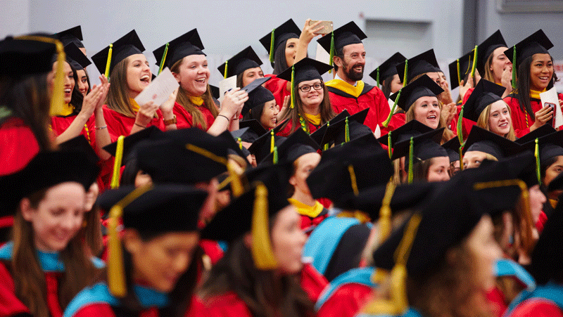 Bu Graduation 2020.Commencement College Of Health Rehabilitation Sciences