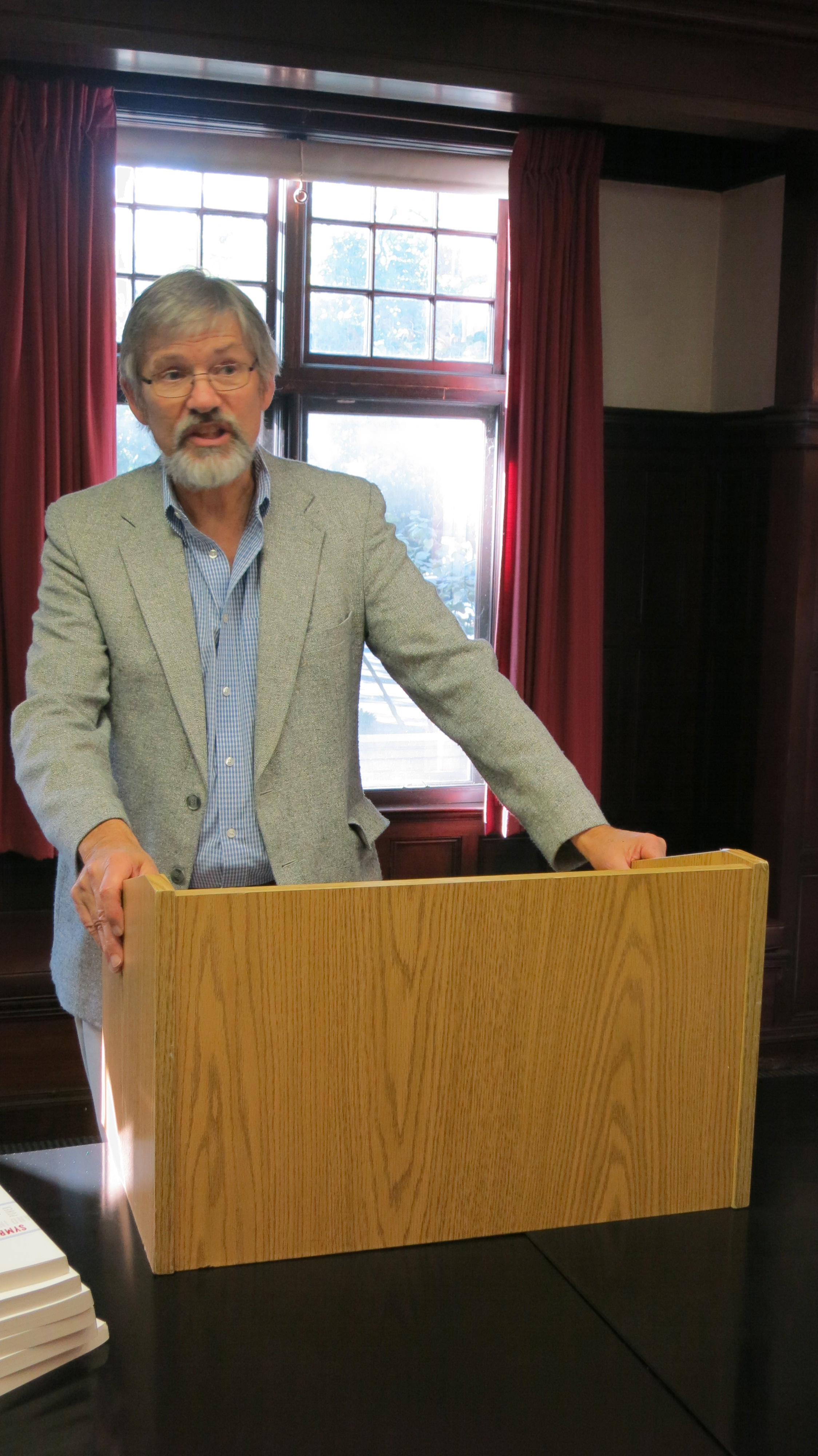 Spc Hosts Celebration Of Professor David Swartzs Symbolic Power