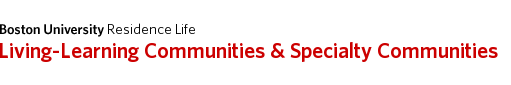 Living-Learning Communities & Specialty Communities