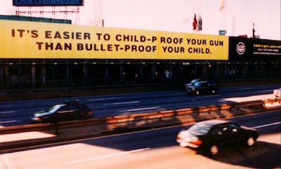 It's easier to child-proof your gun than bullet-proof your child.