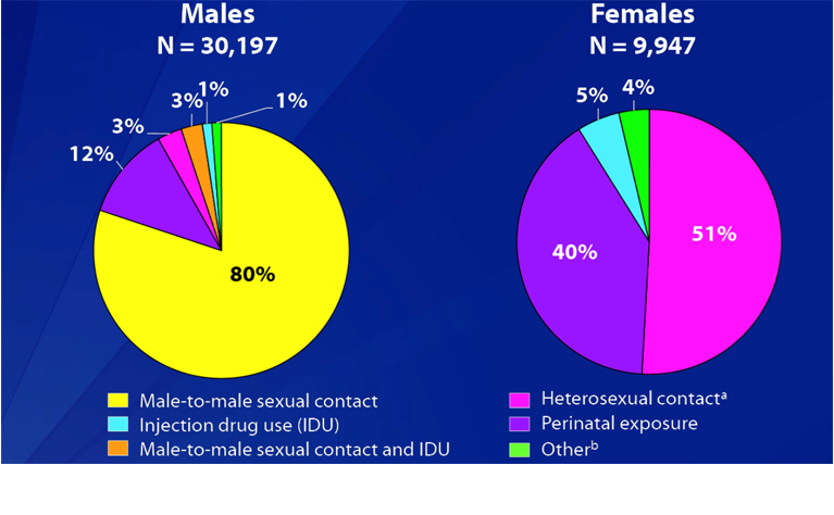 Heterosexual hiv transmission in the united states