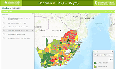 Aids Map Of Africa.Data System Will Accelerate South Africa S Progress To Hiv Aids