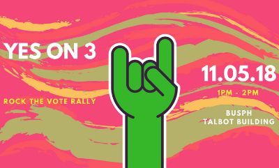 Yes on 3 Rally November 5th