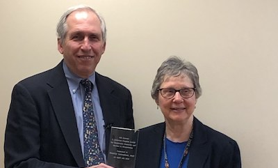 Professor Stanley Lemeshow Presented with L. Adrienne Cupples Award | SPH | Boston University