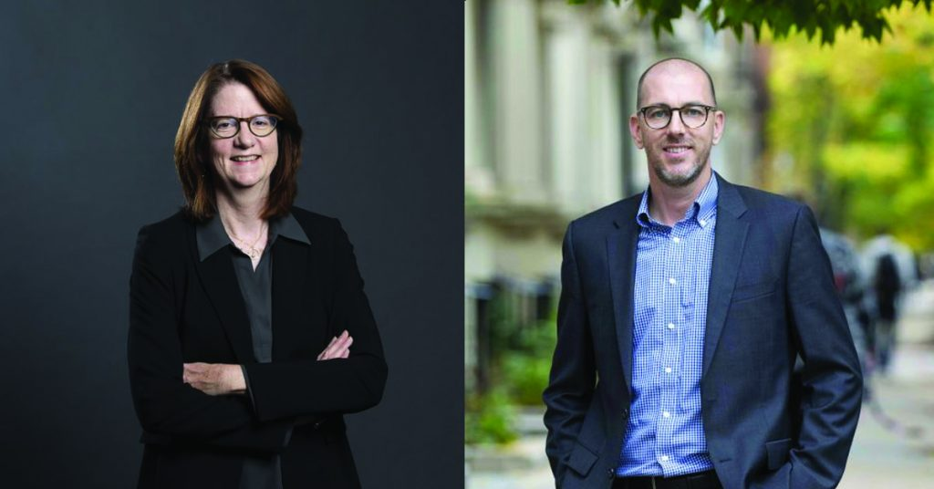 Spencer and Salas-Wright Inducted as Society for Social Work and Research Fellows