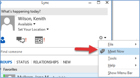 Using Skype for Business for Video Screen Capture (Windows