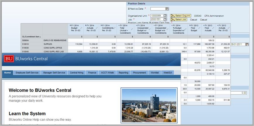 Finance Hr Procurement Systems Techweb Boston University