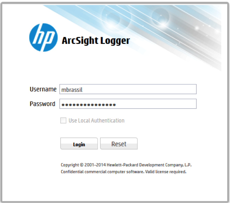 how to use arcsight logger techweb boston university