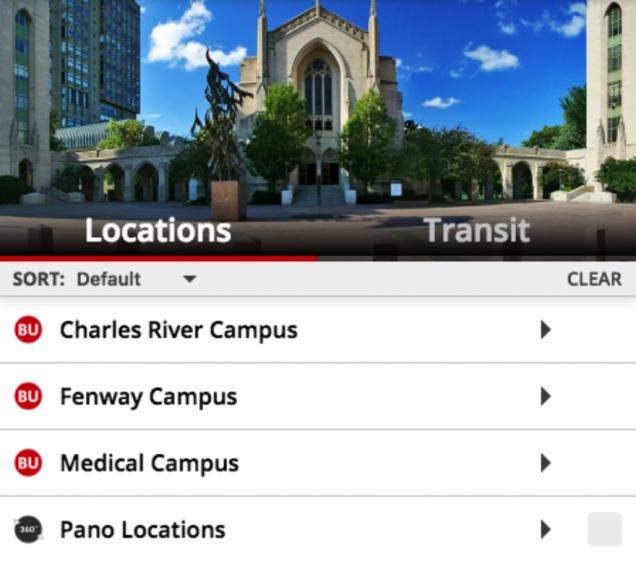 boston university charles river campus map Online Campus Map January 2019 Techweb Boston University boston university charles river campus map