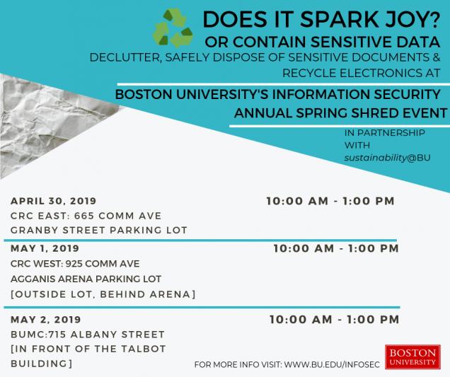 Security News : TechWeb : Boston University