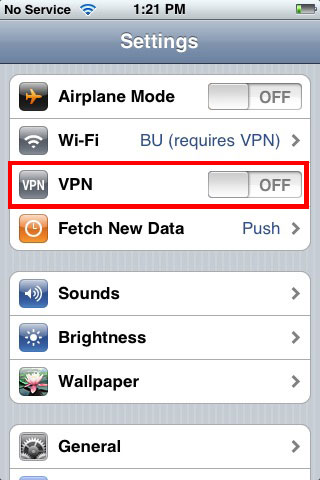 Vpn Setup: Vpn Express Iphone Setup