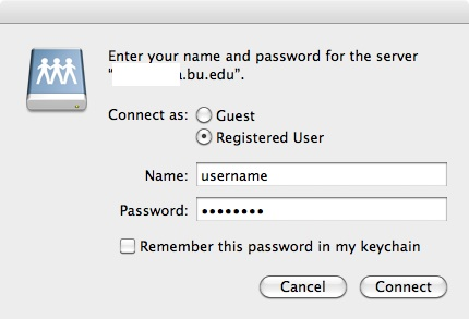 Connecting to Active Directory Resources Using Mac OS X